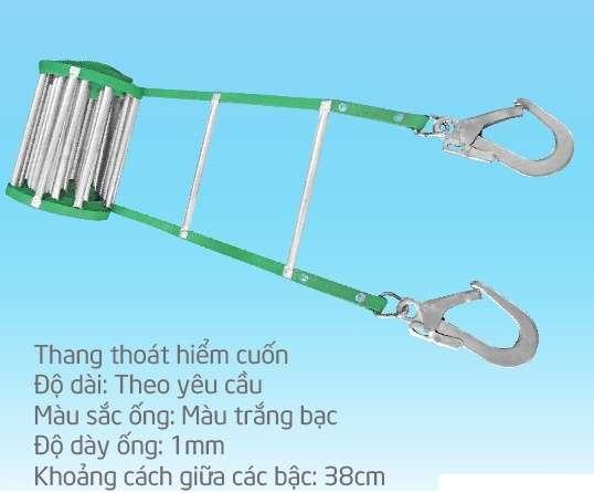 Mã THBB-TH.56M Thang thoát hiểm cuốn