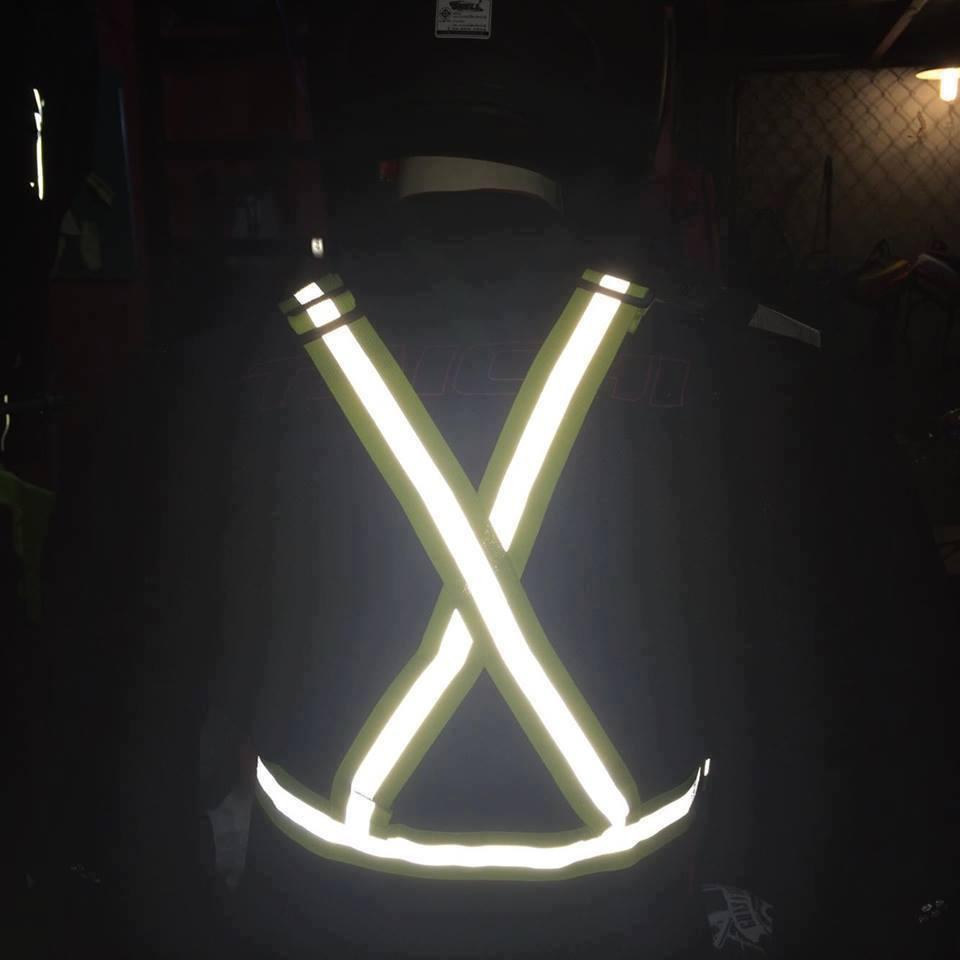 Cách làm áo phản quang phát sáng như thế nào?